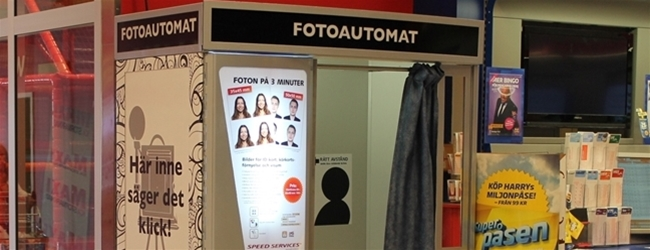 Come to ICA Maxi Stenhagen and try our new photo booth!