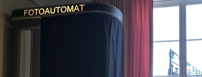 A new photo booth at Södra Teatern in Stockholm
