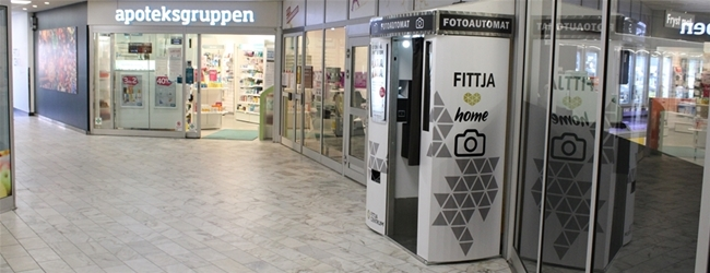 Fittja Centrum got a new photo booth