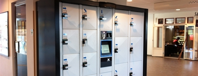 New electronic luggage lockers to the central stations in Skövde, Karlstad, Västerås and Borlänge