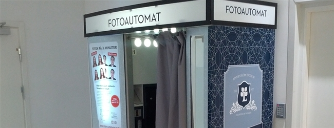 Photobooth at Linden Köpcentrum, Norrköping