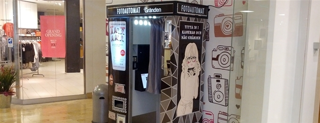 Photobooth at Gränden in Linköping