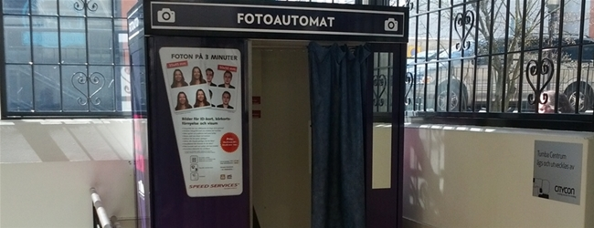 New Photo Booth at Tumba Centrum